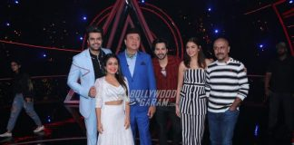 Varun Dhawan and Anushka Sharma promote Sui Dhaaga – Made In India at Indian Idol