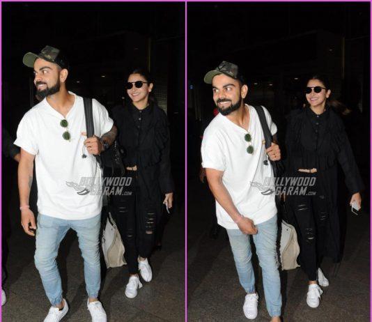 Virat Kohli and Anushka Sharma look great together at airport