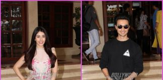 Warina Hussain and Aayush Sharma promote Loveratri at Radio City office