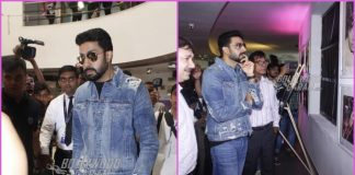Abhishek Bachchan looks dapper at an event at Whistling Woods