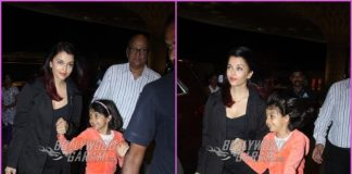 Aishwarya Rai Bachchan and Aaradhya Bachchan leave for Dubai