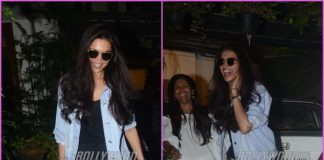 Deepika Padukone looks visibly happy post a salon session