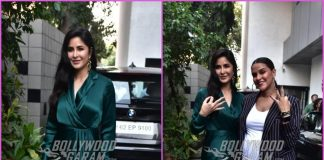 Katrina Kaif and Neha Dhupia pose together before shooting for No Filter Neha
