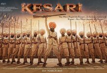Akshay Kumar shares first poster of Kesari