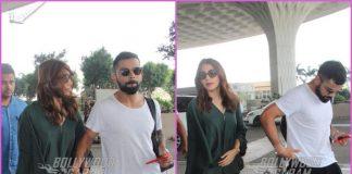 Virat Kohli and Anushka Sharma looks gorgeous at the airport