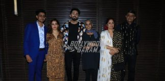 Cast and crew of Badhaai Ho celebrate success at a bash