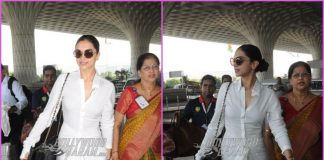 Deepika Padukone makes a gorgeous appearance at airport