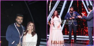 Parineeti Chopra and Arjun Kapoor promote Namaste England at Indian Idol
