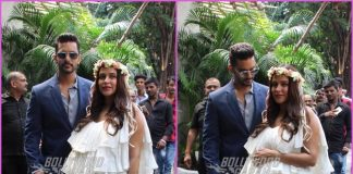 Neha Dhupia looks gorgeous at her baby shower hosted by Angad Bedi