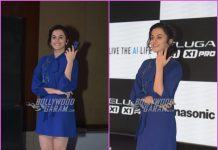 Taapsee Pannu launches new smartphone series by Panasonic in Delhi