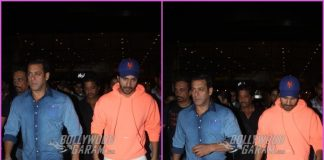 Varun Dhawan and Salman Khan return from Abu Dhabi