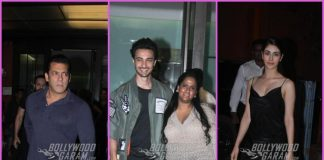 Aayush Sharma celebrates his birthday with close friends and family members