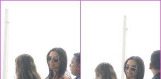 Deepika Padukone shoots for an ad at airport