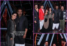 Kajol and Ajay Devgn promote Helicopter Eela on sets of Indian Idol