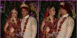 Prince Narula and Yuvika Chaudhary get married in a lavish wedding ceremony
