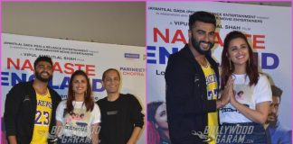 Arjun Kapoor and Parineeti Chopra launch remix version of Proper Patola