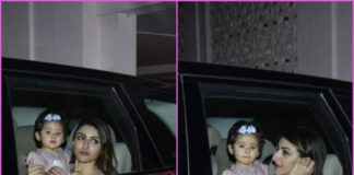 Soha Ali Khan and Inaaya Naumi Kemmu visit Karan Johar at his residence