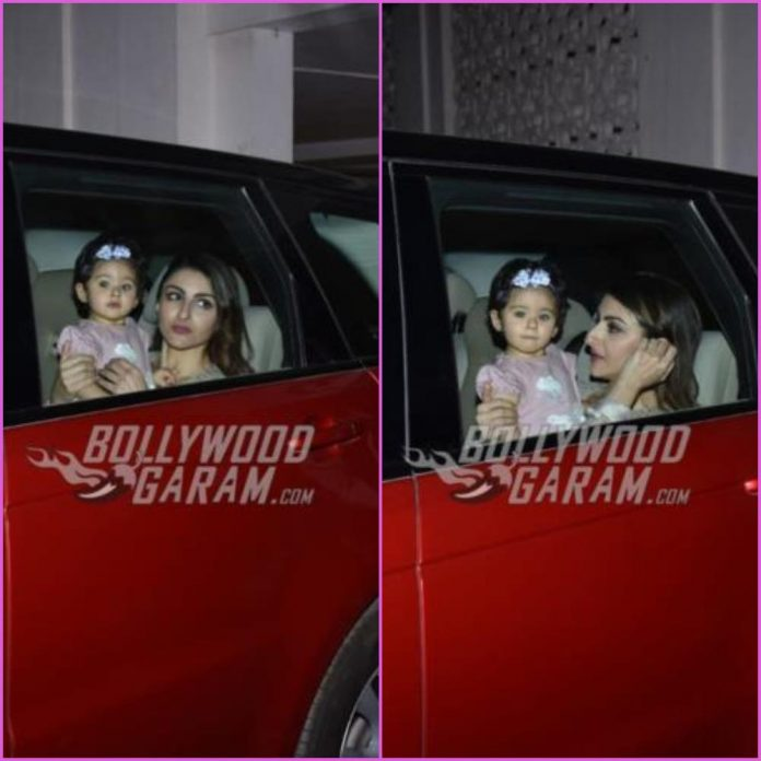 soha Ali Khan and Inaaya