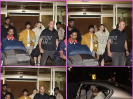 Joe Jonas and Sophie Turner arrive for Priyanka Chopra and Nick Jonas wedding in India