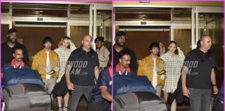 Joe Jonas and Sophie Turner arrive for Priyanka Chopra and Nick Jonas wedding in India