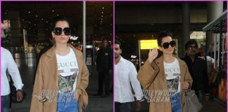 Kangana Ranaut returns to Mumbai after celebrating Diwali with family