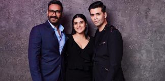 Ajay Devgn and Kajol shoot with Karan Johar for Koffee With karan