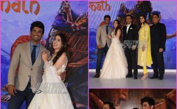 Sara Ali Khan and Sushant Singh launch official trailer of Kedarnath