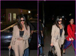 Priyanka Chopra makes a style splash at the airport
