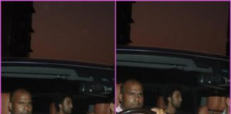 Ranbir Kapoor looks dapper as he exits Farhan Akhtar's residence