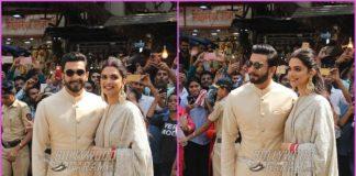 Deepika Padukone and Ranveer Singh visit Siddhivinayak temple together