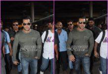 Salman Khan looks dapper as he returns from Chandigarh