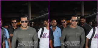 Salman Khan looks dapper as he returns from Chandigarh
