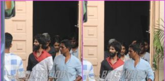 Shahid Kapoor shoots on a busy day for Kabir Singh