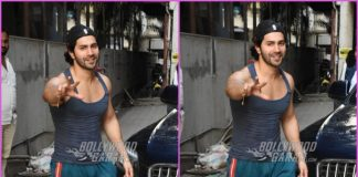 Varun Dhawan all smiles for paparazzi post dance rehearsals