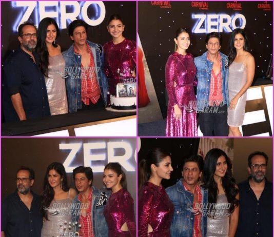 Shah Rukh Khan, Katrina Kaif and Anushka Sharma launch official trailer of Zero