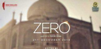 Zero official trailer assures promising performances