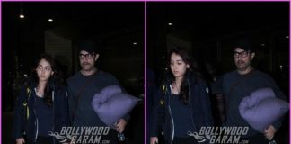 Aamir Khan and daughter Ira on a travel schedule together