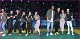 Akshay Kumar, Mouni Roy and Vicky Kaushal at Kudo Tournament
