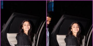 Alia Bhatt looks cool as she exits dubbing studio