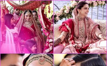 Deepika Padukone and Ranveer Singh share more pictures from wedding