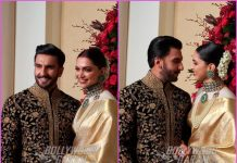 Ranveer Singh and Deepika Padukone make perfect hosts at Bengaluru wedding reception – Photos