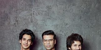 Shahid Kapoor and Ishaan Khatter shoot with Karan Johar for Koffee With Karan