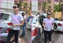 Kareena Kapoor hits gym in style
