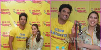 Sushant Singh Rajput and Sara Ali Khan promote Kedarnath at Radio Mirchi