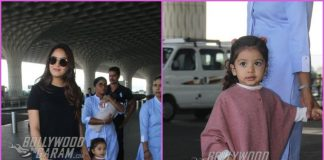 Mira Rajput travels with kids Misha and Zain to Delhi