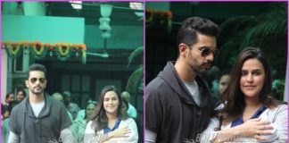 Neha Dhupia and Angad Bedi take home daughter Mehr Dhupia Bedi