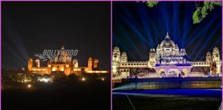 Umaid Bhavan Palace lit up for wedding festivities of Priyanka Chopra and Nick Jonas