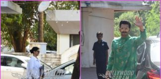 Deepika Padukone and Ranveer Singh visit Sanjay Leela Bhansali at his office