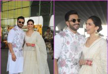 Ranveer Singh and Deepika Padukone head to Bengaluru together