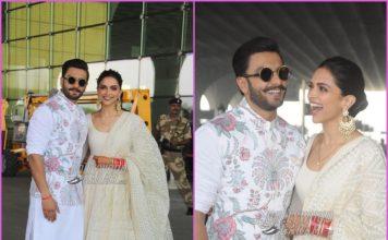 Ranveer Singh and Deepika Padukone head to Bengaluru together